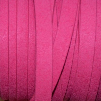 immitatie suede band fuchsia